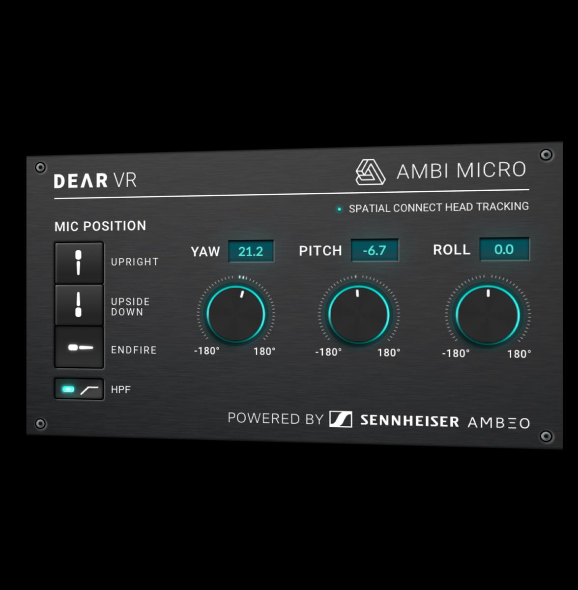 dearVR AMBI MICRO - Features