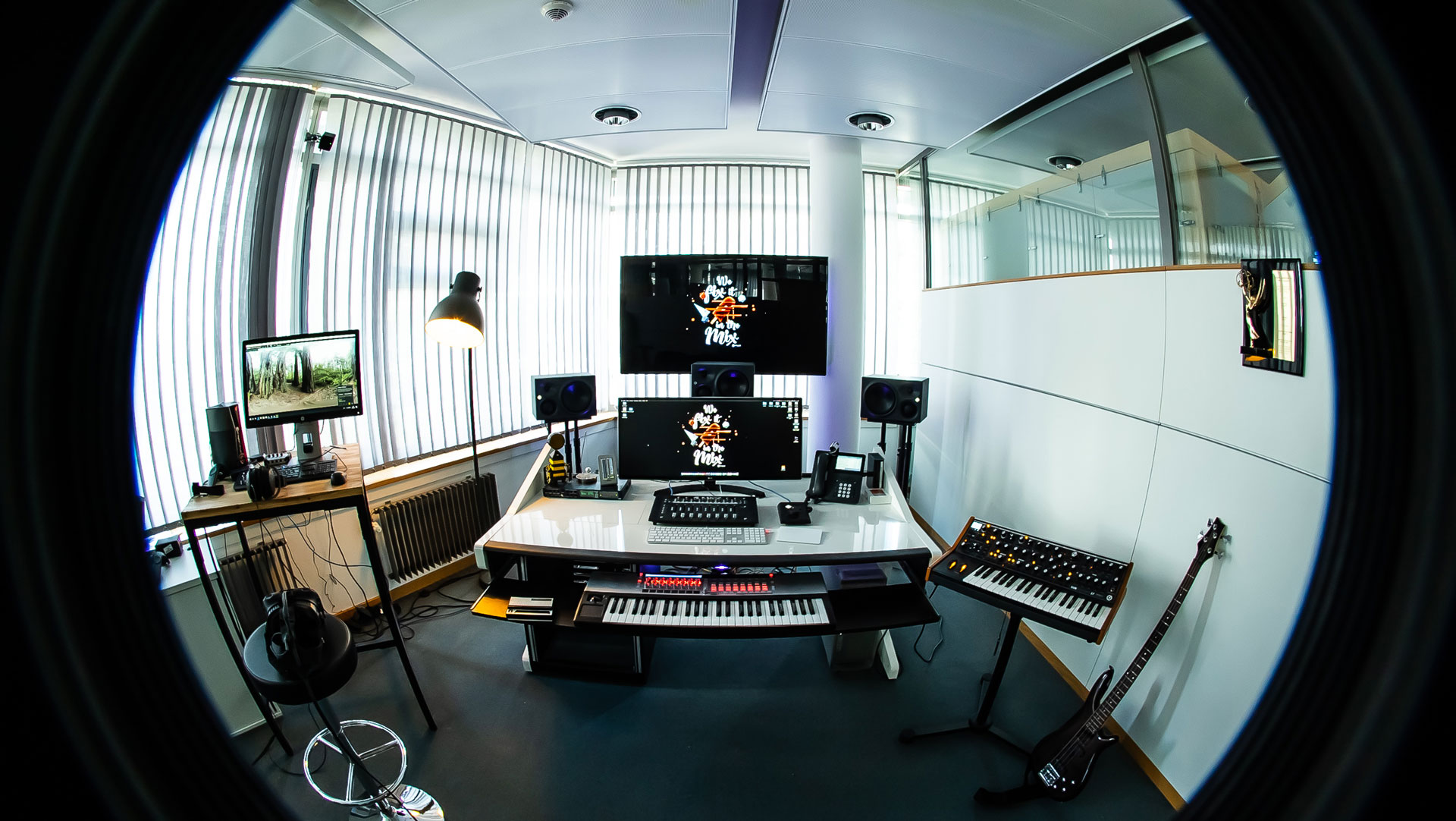 View of Renée Abes workspace